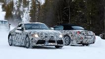 Toyota Supra and BMW Z5 Spy Pics