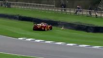 McLaren F1 GTR Crash
