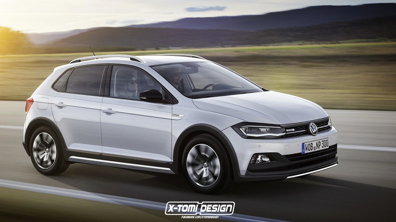 VW Polo Alltrack render