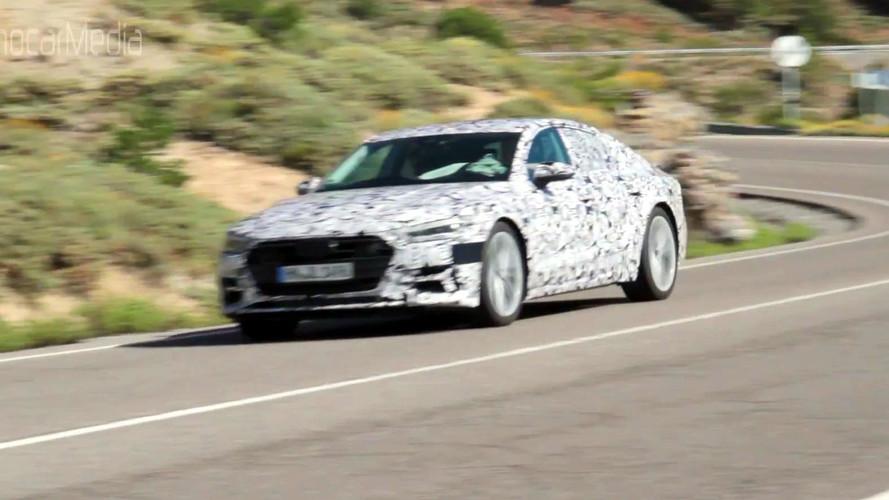 Yeni nesil Audi A7 Sportback virajlı yollarda görüldü