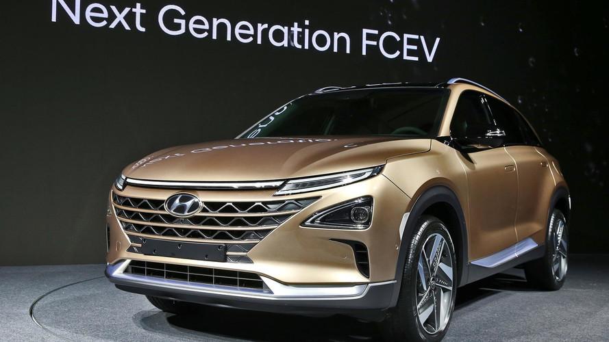 Hyundai SUV Fuel Cell