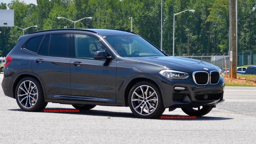 2018 BMW X3 M Sport Pack ile görüntülendi