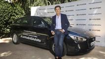 Hyundai i30 CW y Pedro Delgado, iniciativa juntos en el asfalto