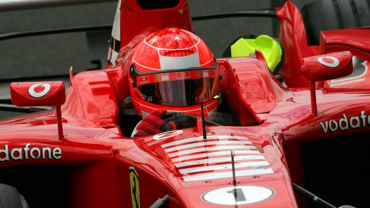 Michael Schumacher (GER), Scuderia Ferrari Marlboro F2005, French Grand Prix, Magny Cours, France, Practice, 01.07.2005