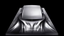 Mercedes-Benz Rising Car Sculpture - 1600