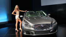 Elle McPherson at 2010 Jaguar XJ world premiere