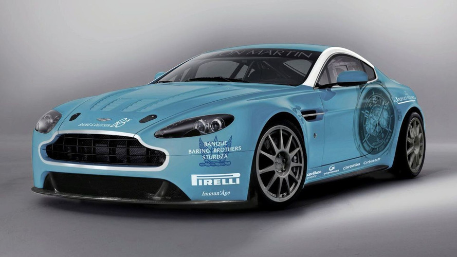 Aston Martin Returns to Nürburgring 24-hour race with New V12 Vantage