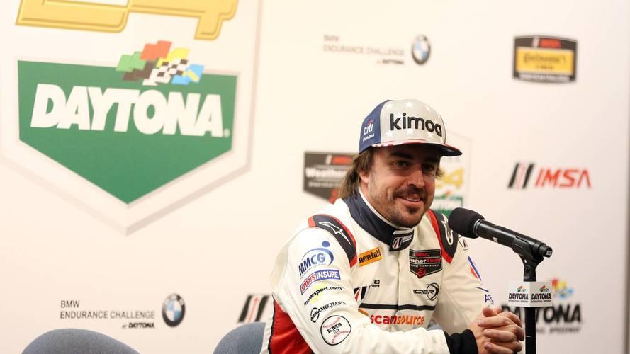Alonso se salta la cuarta sesión de test en Daytona, que domina Nasr