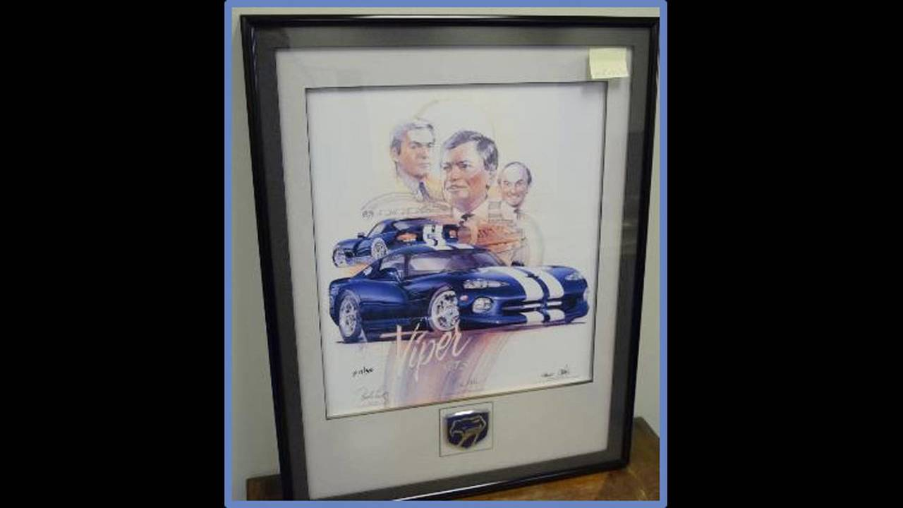 Signed Viper GTS With Executives Artwork
