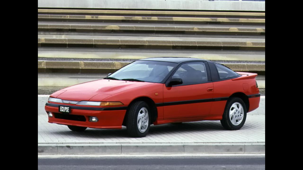 Mitsubishi Eclipse, le foto storiche 003
