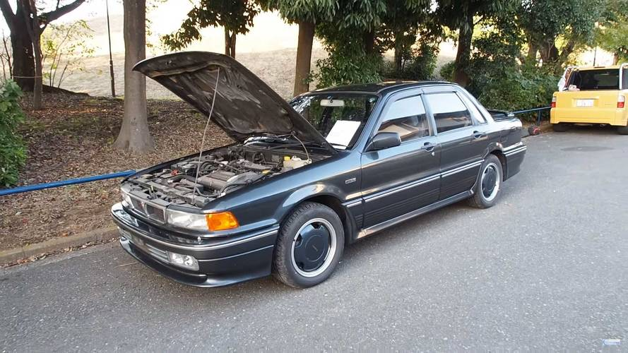 This Rare AMG-Tuned Mitsubishi Galant Is A 1990's Time Machine