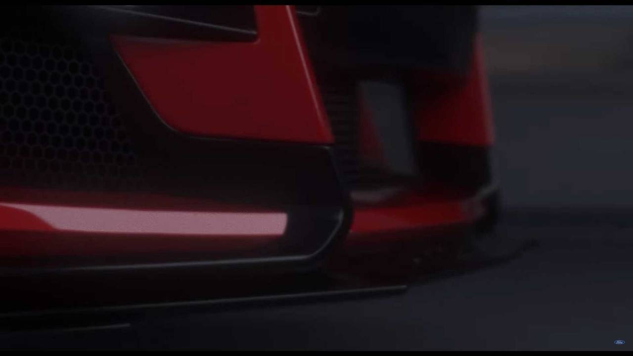 2019 Ford Mustang Shelby GT500 teaser