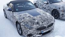 BMW Z4 spy photo