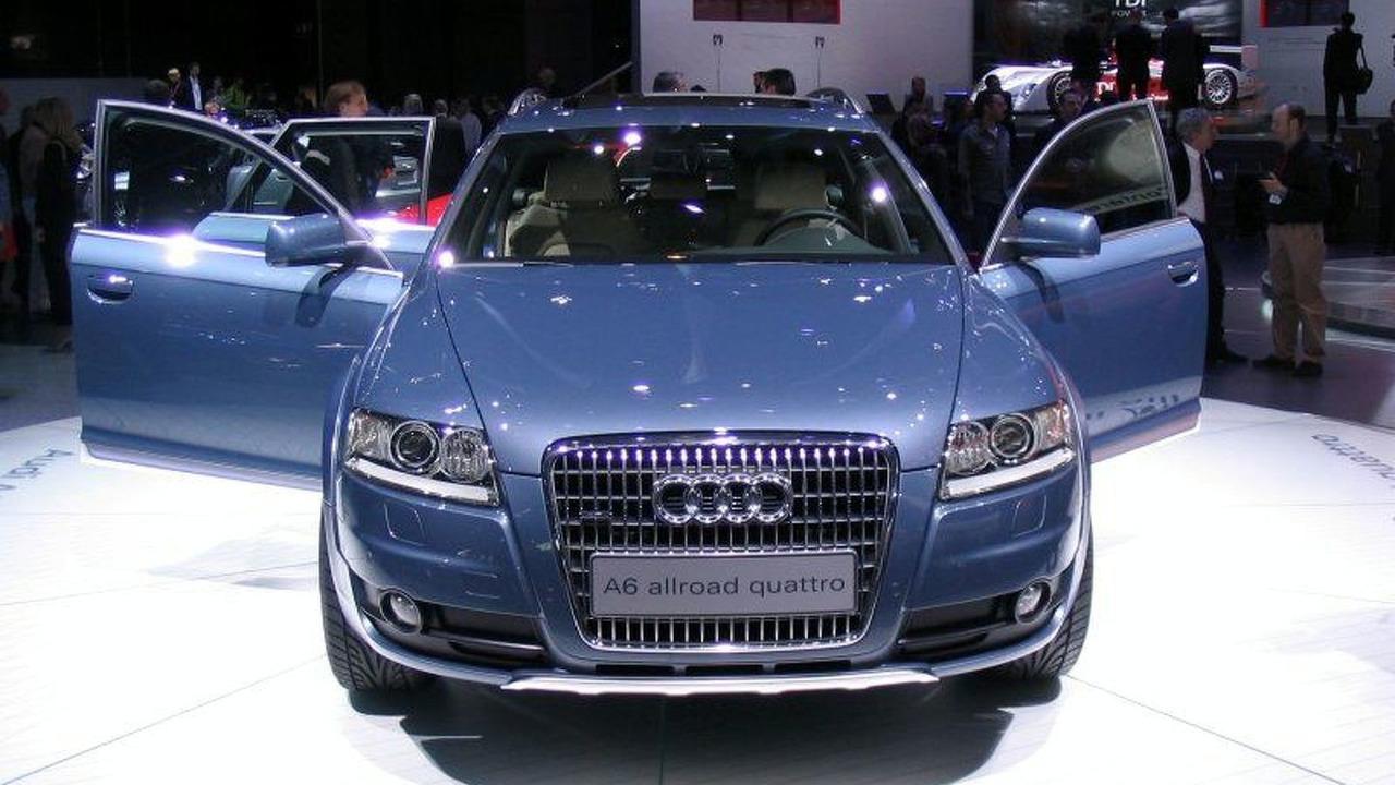 Audi A6 allroad quattro In Geneva