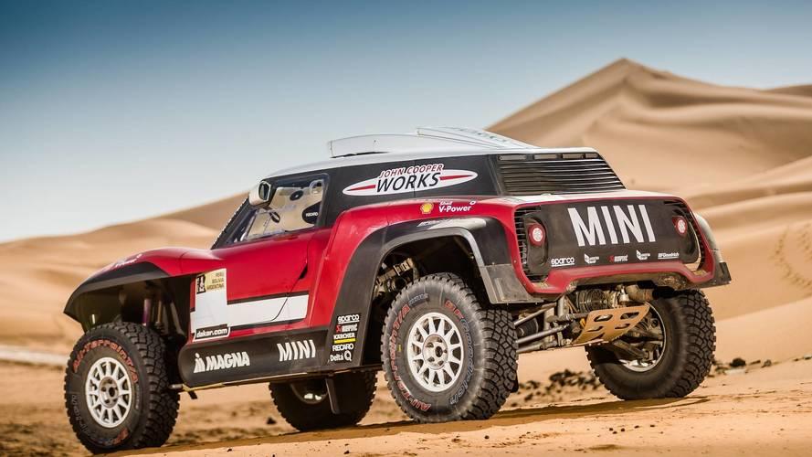 Mini X-Raid team 2018 Dakar rally lineup