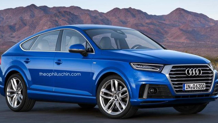 Audi q6 rendered as bmw x6 and mercedes gle coupe rival for Mercedes benz x6 for sale