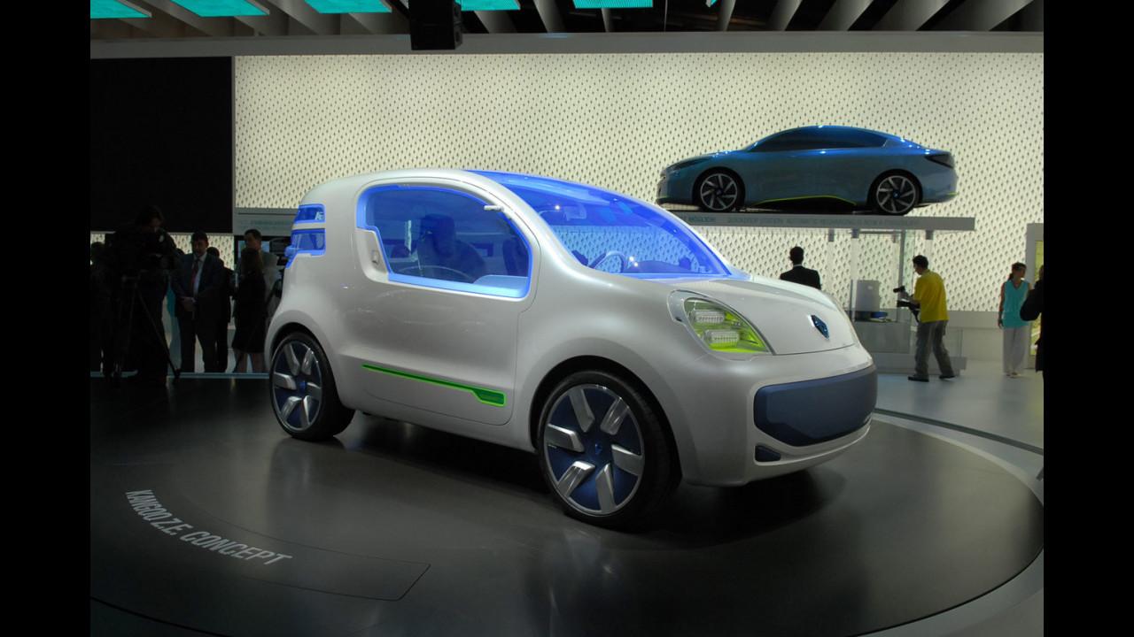 Renault Kangoo Z.E. Concept al Salone di Francoforte 2009