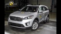 EuroNCAP: Discovery Sport e Sorento ganham 5 estrelas; perua Logan vai mal
