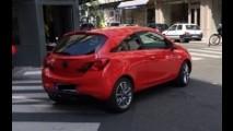Vazou: novo Opel Corsa 2015 é flagrado sem disfarces durante sessão de fotos