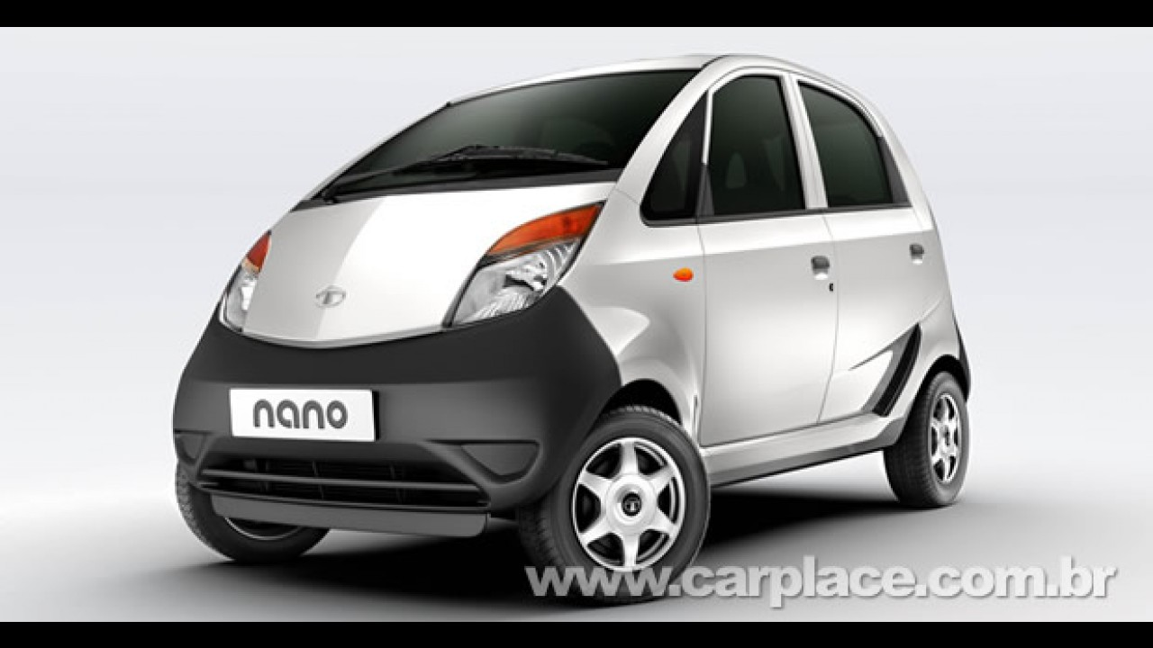 Tata Nano chega a impressionante marca de meio milhão de pedidos na Índia