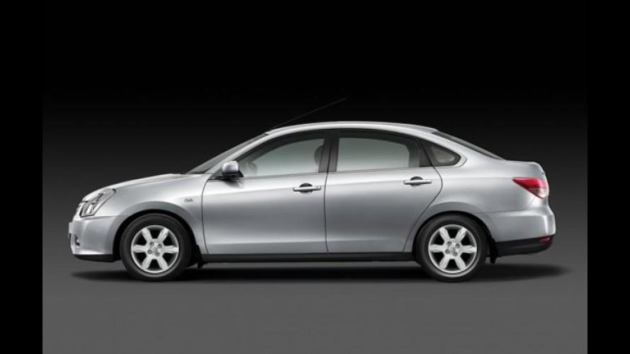 Novo Nissan Almera será lançado exclusivamente para a Rússia