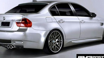 BMW M3 sedan computer generated image
