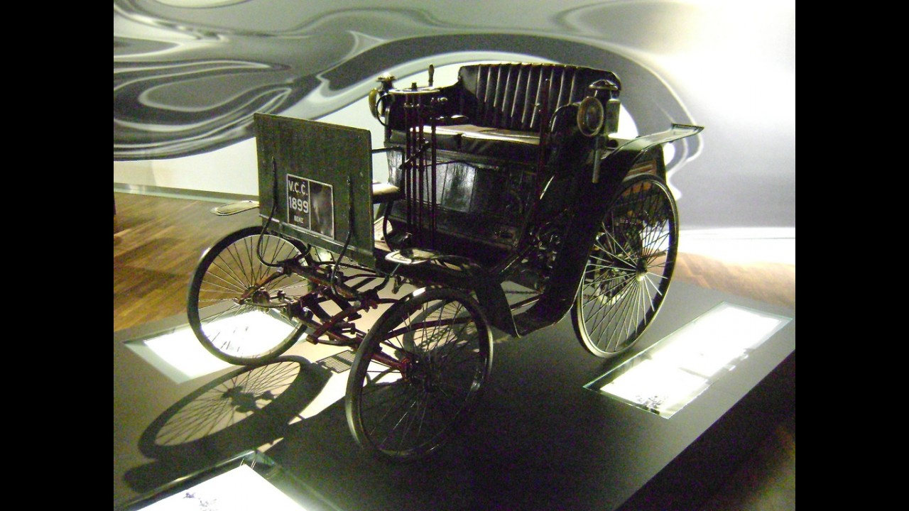 Mercedes-Benz Benz Motor-Velociped