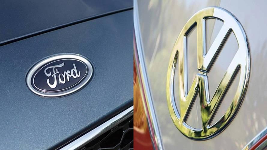 Ford e Volkswagen ensaiam parceria para novos veículos comerciais
