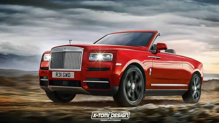 Le Rolls-Royce Cullinan imaginé en coupé, en cabriolet, en pick-up...