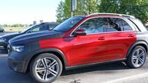 2019 Mercedes GLE Yakın Çekim Casus Fotoğrafları