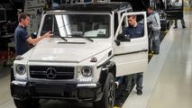 20'000 Mercedes Classe G produits en 1 an