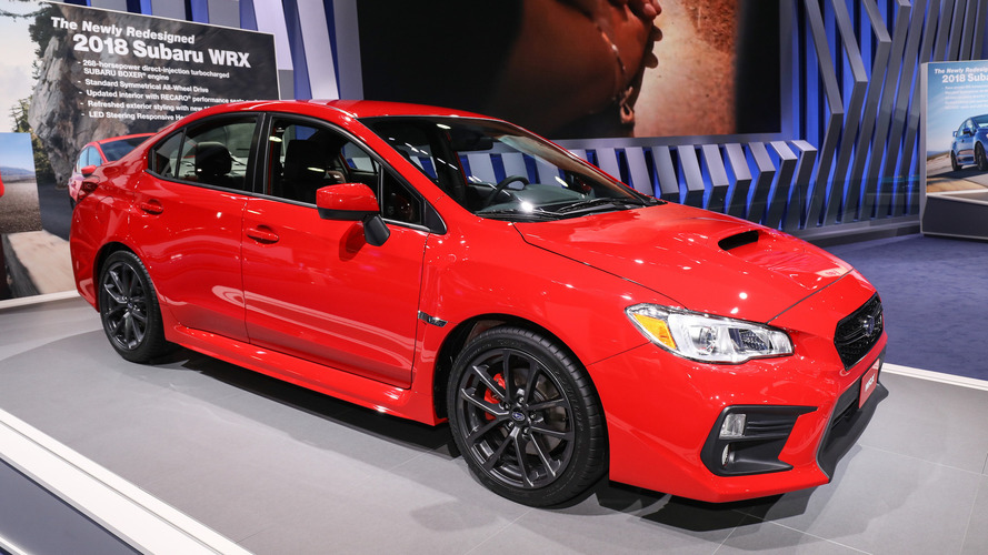Subaru Announces Pricing, Sporty New Package For Upgraded 2018 WRX