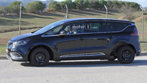 Renault Espace test mule spy photo