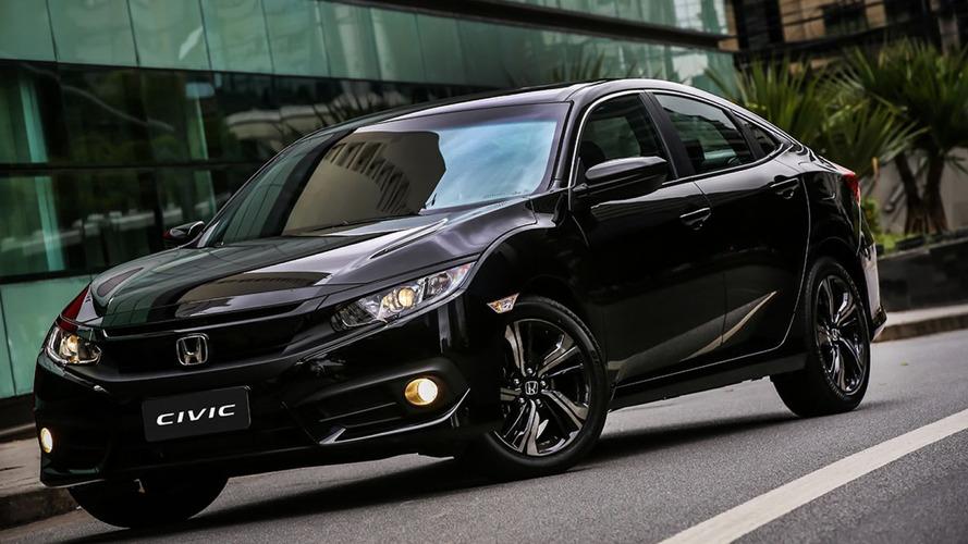 Sedãs médios mais vendidos – Civic reduz vantagem do líder Corolla em fevereiro