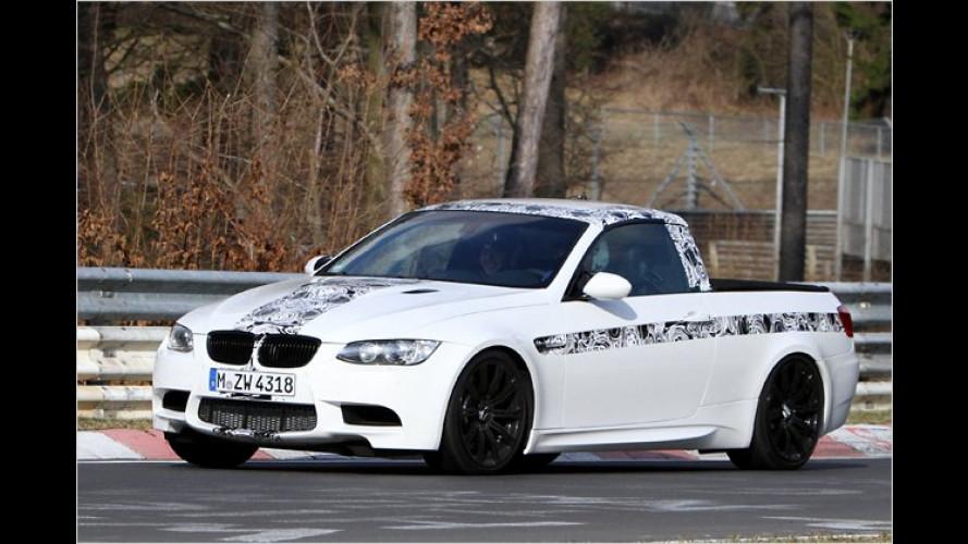 BMW M3 Pick-up erwischt: Das rätselhafte Wesen vom Ring