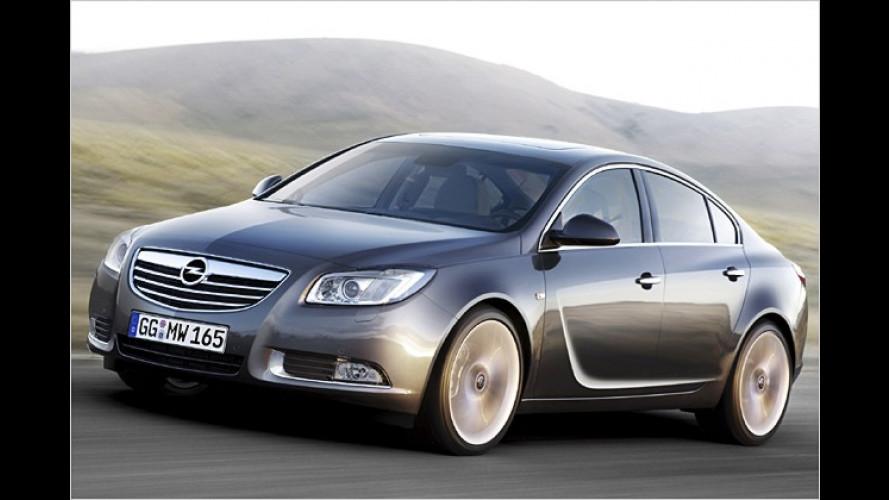 Premiere für den Opel Insignia: Neuer Glanz für den Blitz