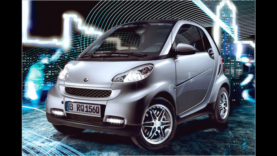 Smart Fortwo als Sondermodell ,Limited Silver