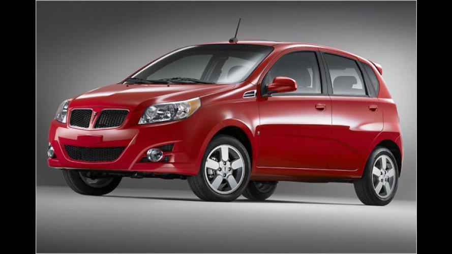 Aveo auf amerikanisch: Pontiac bringt den G3