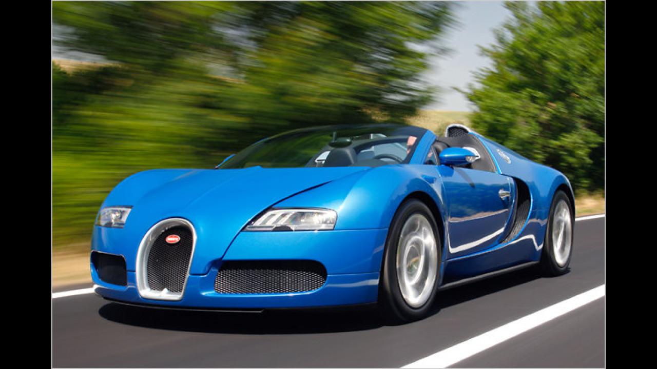 Teuerstes Serienfahrzeug: Bugatti Veyron 16.4 Grand Sport