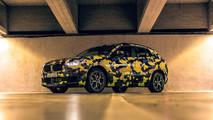 BMW X2 Digital Camouflage