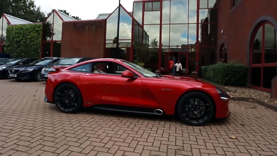 TVR Griffith's Prolific Power Gives CEO Les Edgar A Potty Mouth