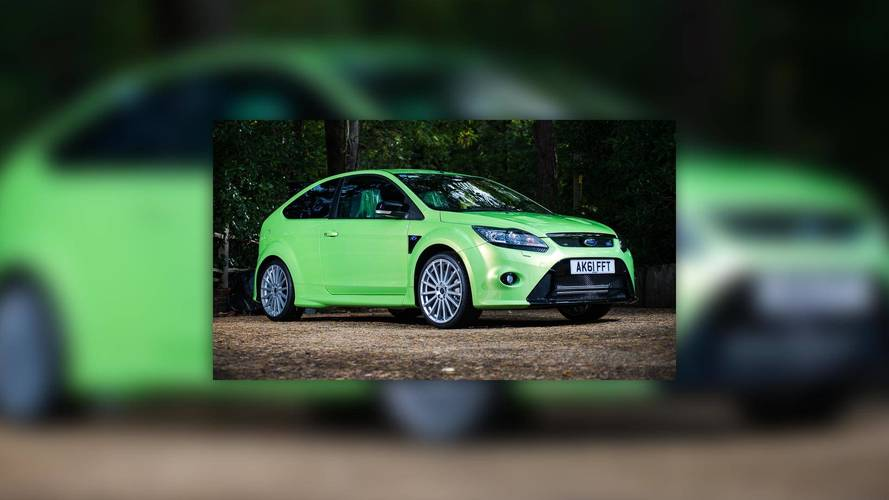 2011 Ford Focus RS With Only 18 Miles Heading To Auction