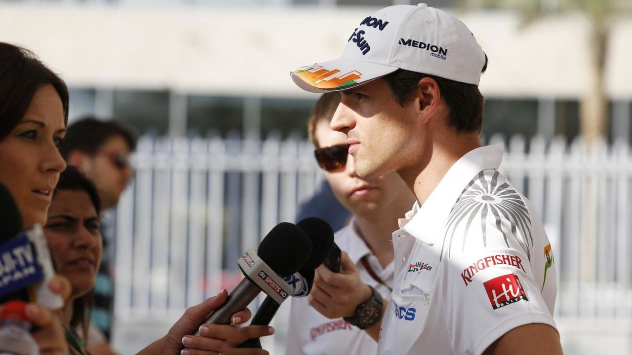 Adrian Sutil 31.10.2013 Abu Dhabi Grand Prix