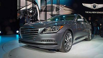 2015 Hyundai Genesis (US-spec) live at 2014 NAIAS