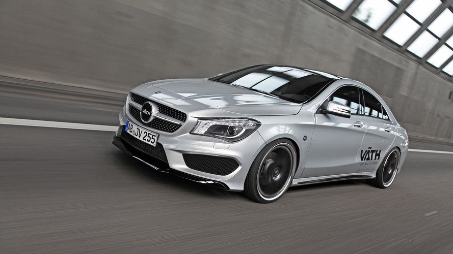 Mercedes-Benz CLA 250 tuned by VATH to 265 HP
