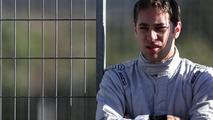 Robin Frijns 30.01.2014 Formula One Testing Jerez Spain