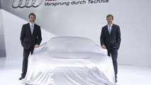 New Audi team-mates Jamie Green (GB) and Mattias Ekström (S)