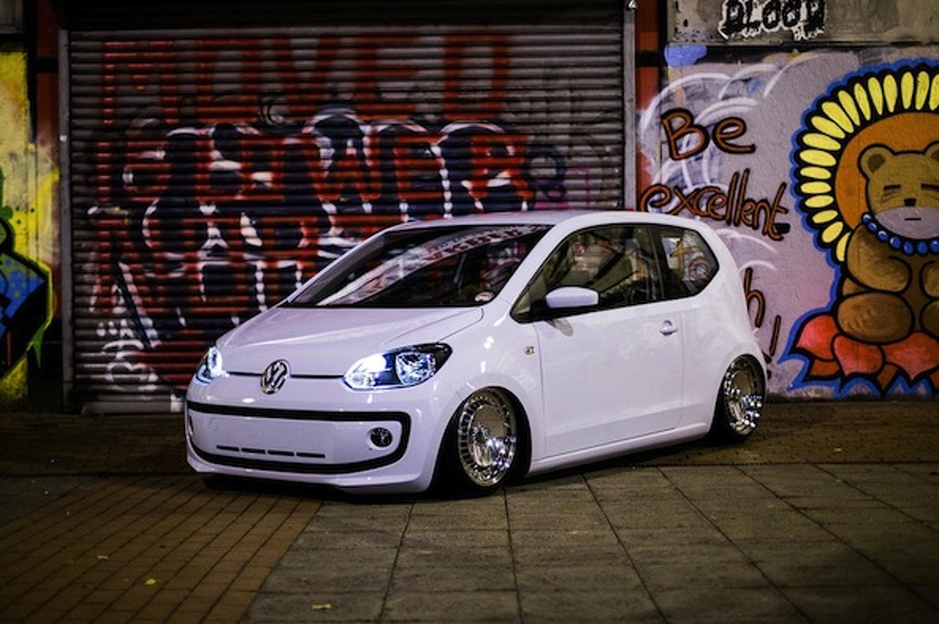 VW Up! Gets the Slammed Treatment