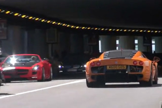 Video: Supercars Invade Monaco