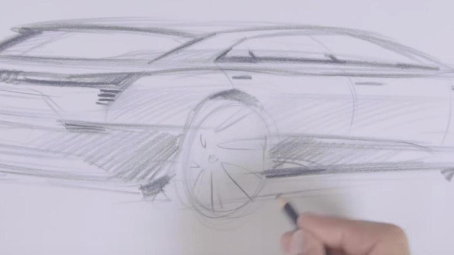 Audi sketches out e-tron quattro concept in new teaser video
